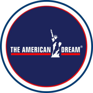 the american dream logo rund v2