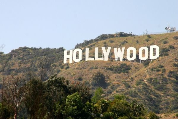 Hollywood-Schriftzug in Los Angeles